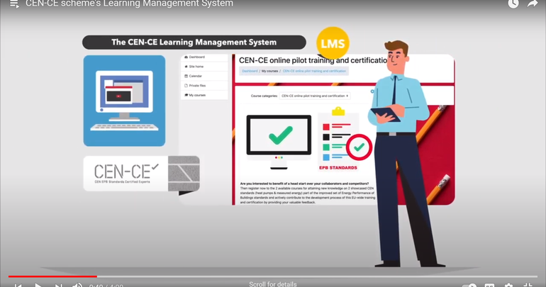 CEN-CE scheme's Learning Management System